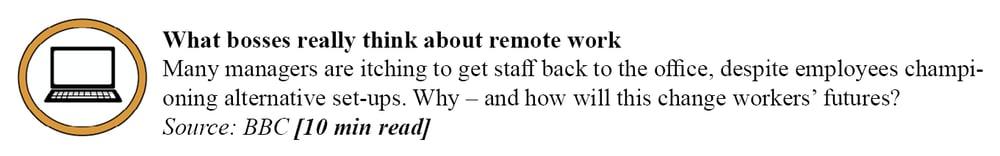 BBC - remote work