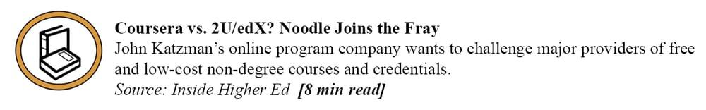 Inside Higher Ed - Noodle