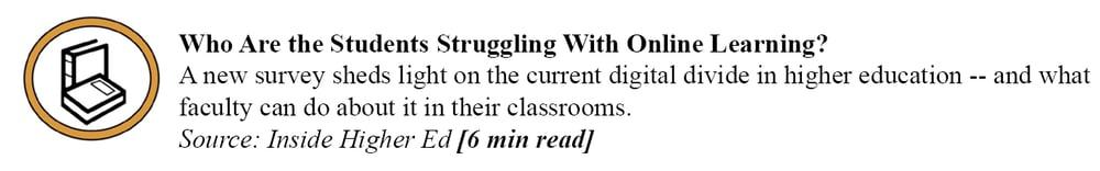 Inside Higher Ed - Online Learning