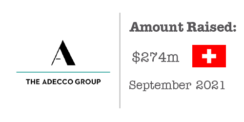 The Adecco Group Fundraising