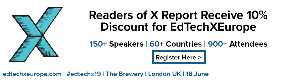 X Report 10% Discount Banner