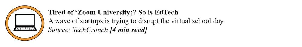 techcrunch - education